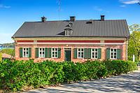Tullhuset på Dalarö i Haninge i Stockholms skärgård