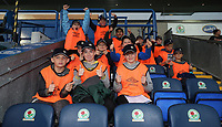 Blackburn Rovers'  Fans at todays match<br /> <br /> Photographer /Rachel HolbornCameraSport<br /> <br /> The EFL Checkatrade Trophy - Blackburn Rovers v Stoke City U23s - Tuesday 29th August 2017 - Ewood Park - Blackburn<br />  <br /> World Copyright &copy; 2018 CameraSport. All rights reserved. 43 Linden Ave. Countesthorpe. Leicester. England. LE8 5PG - Tel: +44 (0) 116 277 4147 - admin@camerasport.com - www.camerasport.com