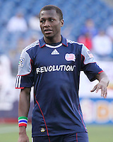 New England Revolution forward Sainey Nyassi (14).  The New England Revolution and San Jose Earthquakes play to a scoreless draw at Gillette Stadium on May 15, 2010