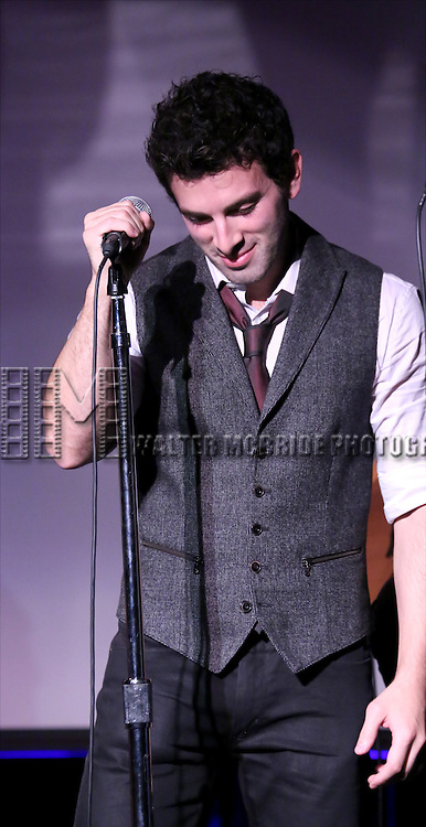 Jarrod Spector performing at The Lilly Awards Broadway Cabaret at the Cutting Room on October 17, 2016 in New York City.