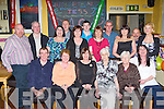 Tess Flynn Killarney seated centre who celebrated her 40th birthday with her family and friends in the Crock Of Gold bar Killarney on Thursday night front row l-r: Dan Flynn, Ann Flynn, Tess Flynn, Catherine Flynn, Anne Ashe, Rita Clifton. Back row: Paudie Reen, Jer Flynn, Bridget Flynn, Greig Lowe, Mary Conway, Keith Flynn, Aine Murphy, John Clifton, Kathleen Anne Kelly, Dan Joe Ahern and Geraldine Flynn..