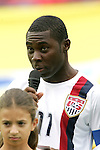 14 July 2007: Both captains, including USA captain Freddy Adu, gave anti-racism messages in their native languages as part of the pregame ceremony. Austria's Under-20 Men's National Team defeated the Under-20 Men's National Team of the United States 2-1 after extra time in a  quarterfinal match at the National Soccer Stadium (also known as BMO Field) in Toronto, Ontario, Canada during the FIFA U-20 World Cup Canada 2007 tournament.