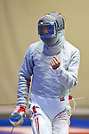 Kota Arai (JPN),<br /> AUGUST 10, 2013 - Fencing :<br /> World Fencing Championships Budapest 2013, Men's Team Sabre Round of 32 at Syma Hall in Budapest, Hungary. (Photo by Enrico Calderoni/AFLO SPORT) [0391]