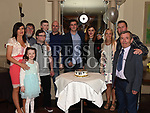 Patrick Neary celebrating his 21st birthday in The Thatch with family. Photo:Colin Bell/pressphotos.ie