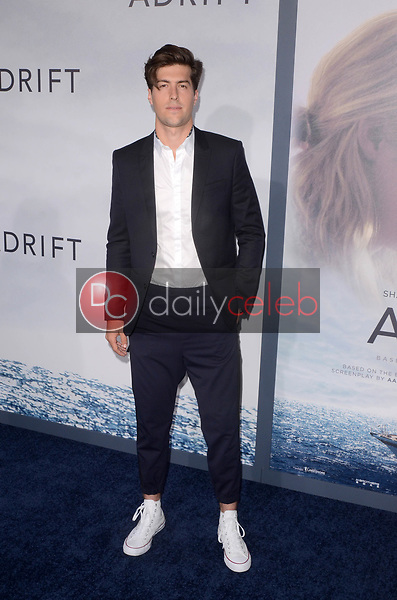 "Andrew Duplessie<br /> at the ""Adrift"" World Premiere, Regal Cinemas L.A. Live, Los Angeles, CA 05-23-18<br /> David Edwards/DailyCeleb.com 818-249-4998"