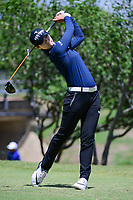 Sung Hyun Park (KOR) watches her tee shot on 2 during round 4 of  the Volunteers of America Texas Shootout Presented by JTBC, at the Las Colinas Country Club in Irving, Texas, USA. 4/30/2017.<br /> Picture: Golffile | Ken Murray<br /> <br /> <br /> All photo usage must carry mandatory copyright credit (&copy; Golffile | Ken Murray)