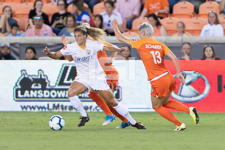 Houston, TX - Friday September 13, 2019: NWSL regular season match between the Houston Dash and Utah Royals FC at BBVA Stadium.