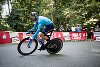 Alejandro Valverde (ESP/Movistar)<br /> <br /> stage 10 (ITT): Jurançon to Pau (36.2km > in FRANCE)<br /> La Vuelta 2019<br /> <br /> ©kramon