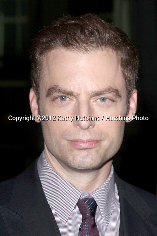 """LOS ANGELES - OCT 2:  Justin Kirk arrives at the """"Nobody Walks"""" - Los Angeles Premiere at ArcLight Hollywood on October 2, 2012 in Los Angeles, CA"""