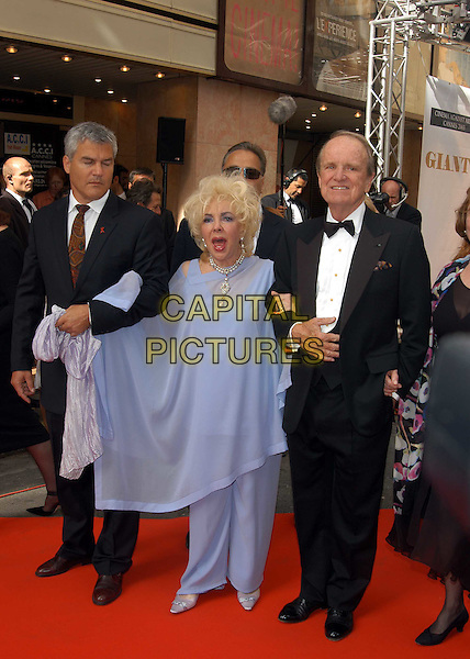 "DAME ELIZABETH TAYLOR.attends screening of ""Giant"" at Olympia cinema.for Aids charity AmFAR.Cannes Film Festival 2003.www.capitalpictures.com.sales@capitalpictures.com.©Capital Pictures"