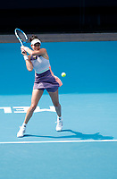 27th January 2020; Melbourne Park, Melbourne, Victoria, Australia; Australian Open Tennis, Day 8; Garbine Muguruza of Spain during her match against Kiki Bertens of Netherlands