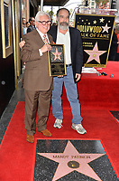 Mandy Patinkin &amp; Vin Di Bona  at the Hollywood Walk of Fame Star Ceremony honoring actor Mandy Patinkin on Hollywood Boulevard, Los Angeles, USA 12 Feb. 2018<br /> Picture: Paul Smith/Featureflash/SilverHub 0208 004 5359 sales@silverhubmedia.com
