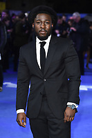 "Eric Kofi-Abrefa<br /> arriving for the ""Blue Story"" premiere at the Curzon Mayfair, London.<br /> <br /> ©Ash Knotek  D3534 14/11/2019"