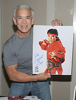 "NEW YORK, NY - NOVEMBER 4: Ricky ""The Dragon"" Steamboat attends the Big Event NY at LaGuardia Plaza Hotel on November 4, 2017 in Queens, New York.  Credit: George Napolitano/MediaPunch /NortePhoto.com"
