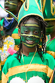 24/25 August 2008, London/United Kingdom. Notting Hill Carnival 2008. Notting Hill traditionally hosts Europe's biggest street party over the Bank Holiday weekend in August. More than a million spectators lined the carnival route over the two days in 2008.....