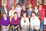 The Castleisland Probus group who met in the River Island Hotel Castleisland on Wednesday front row l-r: Laura O'Connor, Christa Vonhof vice-President, Helen Pembroke Secretary, Bridie Reidy. Back row: Elma Bryant, Sheila Hannon, Mary Sheahan, Mary McQuinn, Margaret Burke, Sheila Roche and Rita Leahy