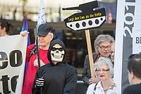 2018/05/08 Politik | Protest gegen Rheinmetall