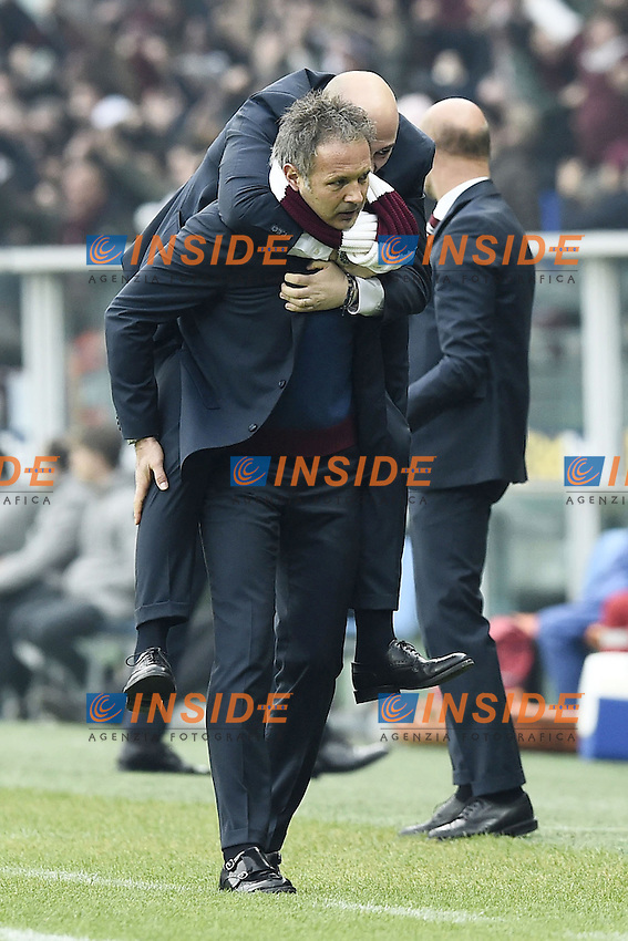 Sinisa Mihajlovic, Attilio Lombardo Torino <br /> Torino 11-12-2016 Stadio Olimpico Grande Torino Football Calcio Serie A 2016/2017 Torino - Juventus foto Image Sport/Insidefoto