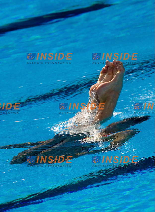 Roma 22nd July 2009 - 13th Fina World Championships From 17th to 2nd August 2009..Solo Free..RANDALL Jenna    GBR..photo: Roma2009.com/InsideFoto/SeaSee.com
