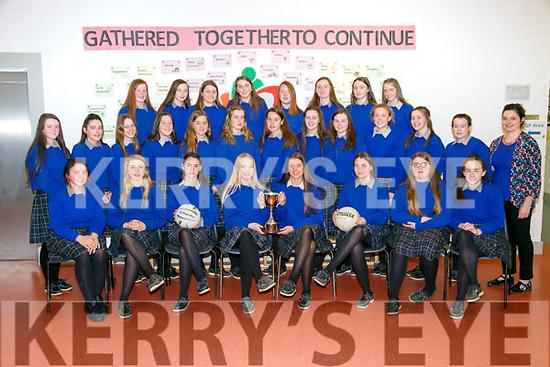 MILLTOWN  Secondary School Junior Girls Football Panel U16 munster champions