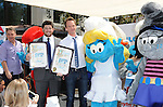 "Neil Patrick Harris arriving at the Grove for meet the surfs on ""Global Smurfs Day"" held the Grove in LA. on June 22, 2013."