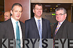 Pictured at the Law Society Talk in the Grand Hotel on Thursday, from left: John Moran, Barry Murphy and Edward Stack.