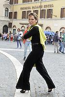 Roma, 30 Aprile 2015<br /> Daniela Santanchè entra in Parlamento.<br /> Votata le seconda fiducia alla Legge elettorale
