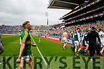 Barry John Keane,  Kerry players after the All Ireland Quarter Final at Croke Park on Sunday.