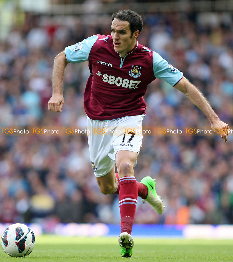 Joey O'Brien of West Ham - West Ham United vs Sunderland - Barclays Premier League at Upton Park, West Ham - 22/09/12 - MANDATORY CREDIT: Rob Newell/TGSPHOTO - Self billing applies where appropriate - 0845 094 6026 - contact@tgsphoto.co.uk - NO UNPAID USE.