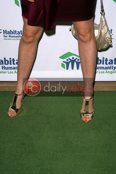 Sarah Carter's shoes<br />at the 'Building A Greater Los Angeles' Gala. Beverly Hilton Hotel, Beverly Hills, CA. 10-01-08<br />Dave Edwards/DailyCeleb.com 818-249-4998