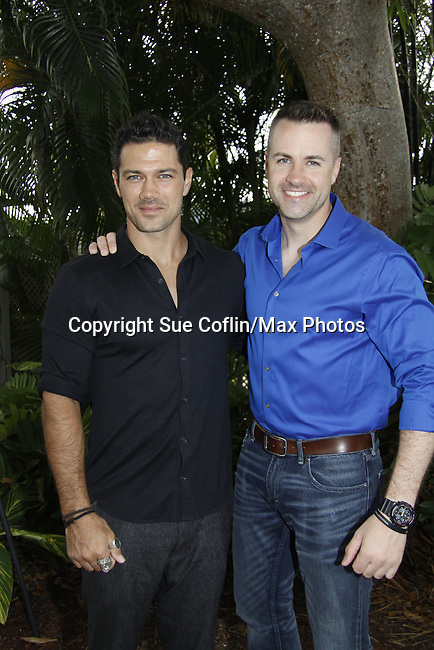 Ryan Paivey - General Hospital -  & John Driscoll - Y&R - G/L - Actors from Y&R, General Hospital and Days donated their time to Southwest Florida 16th Annual SOAPFEST - a celebrity weekend May 22 thru May 25, 2015 benefitting the Arts for Kids and children with special needs and ITC - Island Theatre Co. as it presented A Night of Stars on May 23 , 2015 at Bistro Soleil, Marco Island, Florida. (Photos by Sue Coflin/Max Photos)