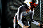 Triple World Cycling Champion Anna Mears at Dunc Gray Veledrome. (Photo: Steve Christo)