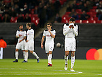 Tottenham's Dele Alli looks on dejected after CSKA Moscow's opening goal during the Champions League group match at Wembley Stadium, London. Picture date December 7th, 2016 Pic David Klein/Sportimage