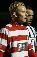 Alister Crawford in the St Mirren v Hamilton Academical Scottish Communities League Cup match played at St Mirren Park, Paisley on 25.9.12.