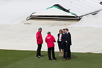 The umpires further inspection calls for the abandonment of the fixture between Pakistan vs Sri Lanka, ICC World Cup Cricket at the Bristol County Ground on 7th June 2019