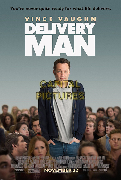 POSTER ART<br /> in Delivery Man (2013) <br /> *Filmstill - Editorial Use Only*<br /> CAP/NFS<br /> Image supplied by Capital Pictures