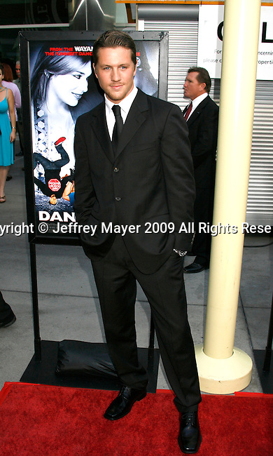 "HOLLYWOOD, CA. - May 20: Ross Thomas arrives at the Los Angeles Premiere of ""Dance Flick"" at the ArcLight Theatre on May 20, 2009 in Hollywood, Californnia"