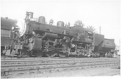 3/4 fireman's-side view of Southern Pacific Atlantic #3000.<br /> Southern Pacific