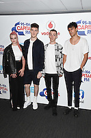 Clean Bandit<br /> at the Capital Radio Summertime Ball 2016, Wembley Arena, London.<br /> <br /> <br /> ©Ash Knotek  D3132  11/06/2016