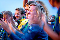 Atmosphere in closing ceremony. Photo: Mikko Roininen / Scouterna