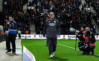 Leeds United manager Marcelo Bielsa heads to the dug out<br /> <br /> Photographer Alex Dodd/CameraSport<br /> <br /> The EFL Sky Bet Championship - Preston North End v Leeds United - Tuesday 22nd October 2019 - Deepdale Stadium - Preston<br /> <br /> World Copyright © 2019 CameraSport. All rights reserved. 43 Linden Ave. Countesthorpe. Leicester. England. LE8 5PG - Tel: +44 (0) 116 277 4147 - admin@camerasport.com - www.camerasport.com