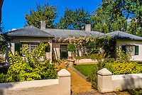 Kendall Cottage, Allee Bleue  Wine Estate, Groot Drakenstein, Cape Winelands (near Cape Town), South Africa.