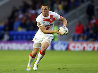 PICTURE BY VAUGHN RIDLEY/SWPIX.COM - Rugby League - 2013 International Origin - England v Exiles - Halliwell Jones Stadium, Warrington, England - 14/06/13 - England's Kevin Sinfield.