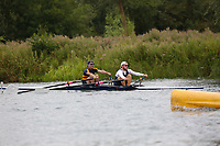 Race: 165  2x (Band 3)  Final<br /> <br /> Peterborough Summer Regatta 2018 - Sunday<br /> <br /> To purchase this photo, or to see pricing information for Prints and Downloads, click the blue 'Add to Cart' button at the top-right of the page.