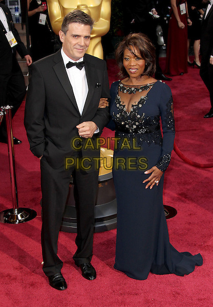 02 March 2014 - Hollywood, California - Roderick Spencer, Alfre Woodard. 86th Annual Academy Awards held at the Dolby Theatre at Hollywood &amp; Highland Center. <br /> CAP/ADM/RE<br /> &copy;Russ Elliot/AdMedia/Capital Pictures