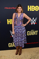 """LOS ANGELES - FEB 29:  Aida Rodriguez at the """"Andre The Giant"""" HBO Premiere at the Cinerama Dome on February 29, 2018 in Los Angeles, CA"""
