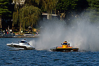 "Bobby King, H-242, Patrick Haworth, H-79 ""Bad Influence""    (H350 Hydro) (5 Litre class hydroplane(s)"