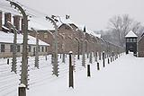 Das deutsche KZ Auschwitz nahe Oswiecim