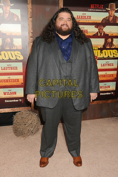 30 November 2015 - Universal City, California - Jorge Garcia. &quot;The Ridiculous 6&quot; Los Angeles Premiere held at the AMC Universal CityWalk Stadium 19. <br /> CAP/ADM/BP<br /> &copy;BP/ADM/Capital Pictures