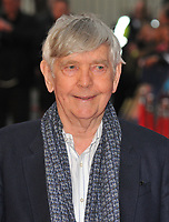 Tom Courtenay at the &quot;The Guernsey Literary And Potato Peel Pie Society&quot; world film premiere, Curzon Mayfair cinema, Curzon Street, London, England, UK, on Monday 09 April 2018.<br /> CAP/CAN<br /> &copy;CAN/Capital Pictures